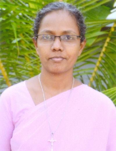 Rev. Sr. M Santhana Mari, FSAG : Office Superintendent