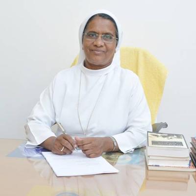 Rev. Mother C Noel Rani, FSAG : Secretary