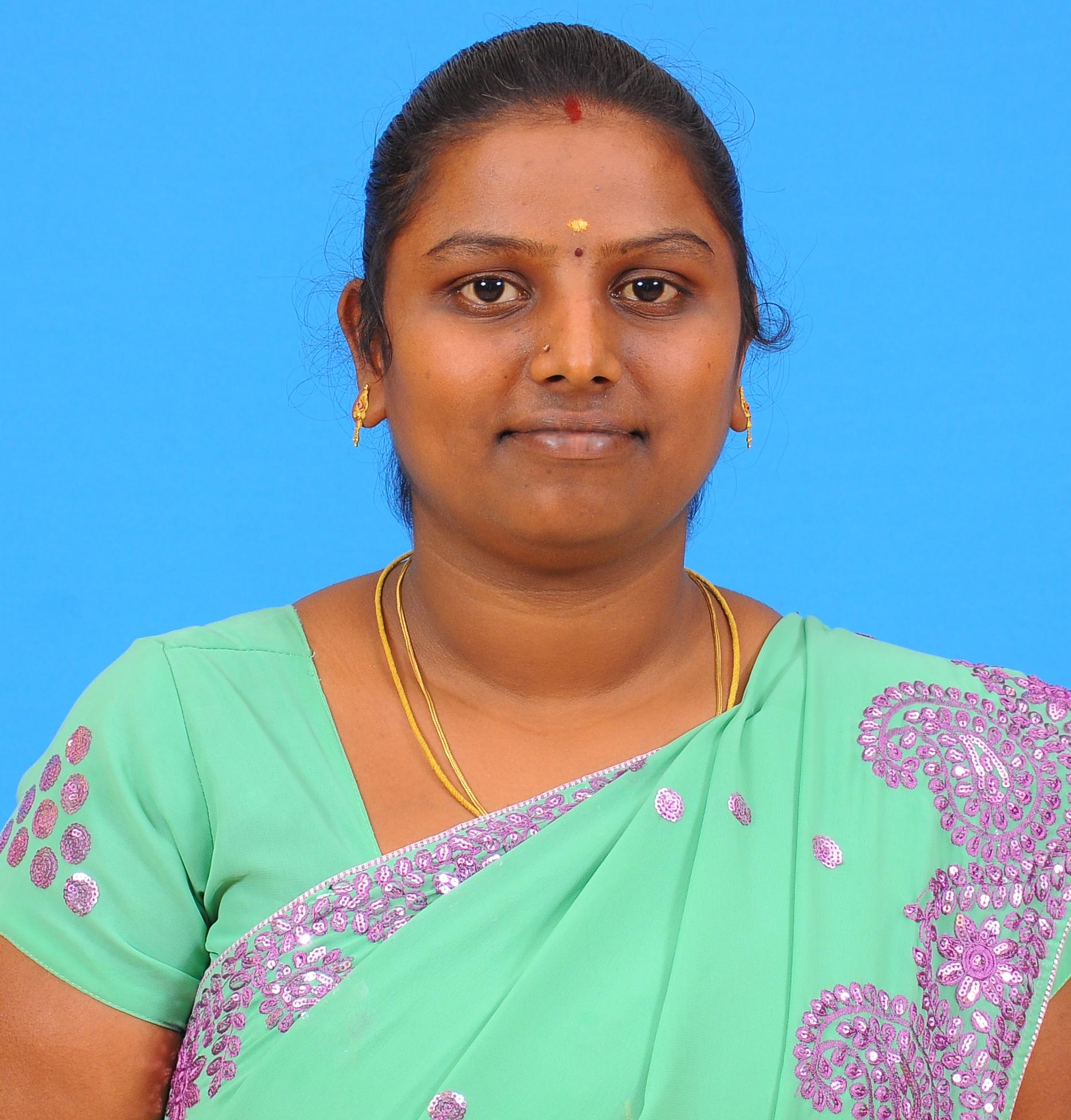 P Jaishree, M.Sc., B.Ed. : Assistant Professor