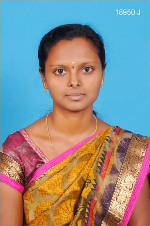 Ms  S Raagavi, M.Sc.,M.Phil. : Assistant Professor