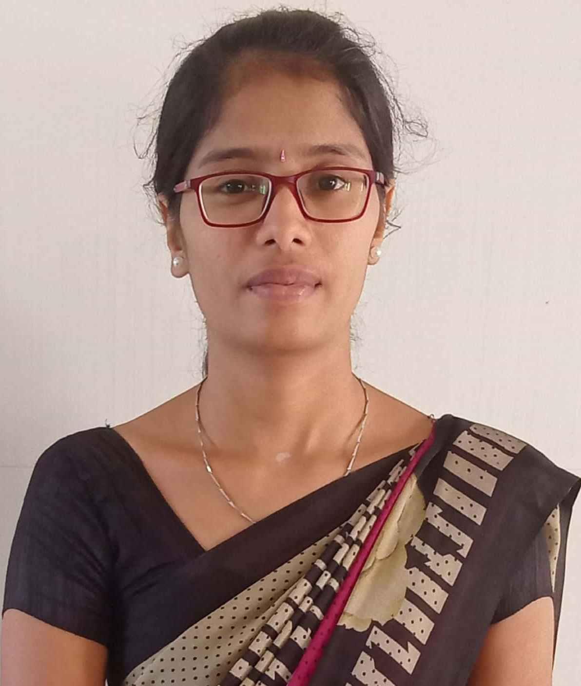 Ms. C Sumitha, M.Sc. : Assistant Professor