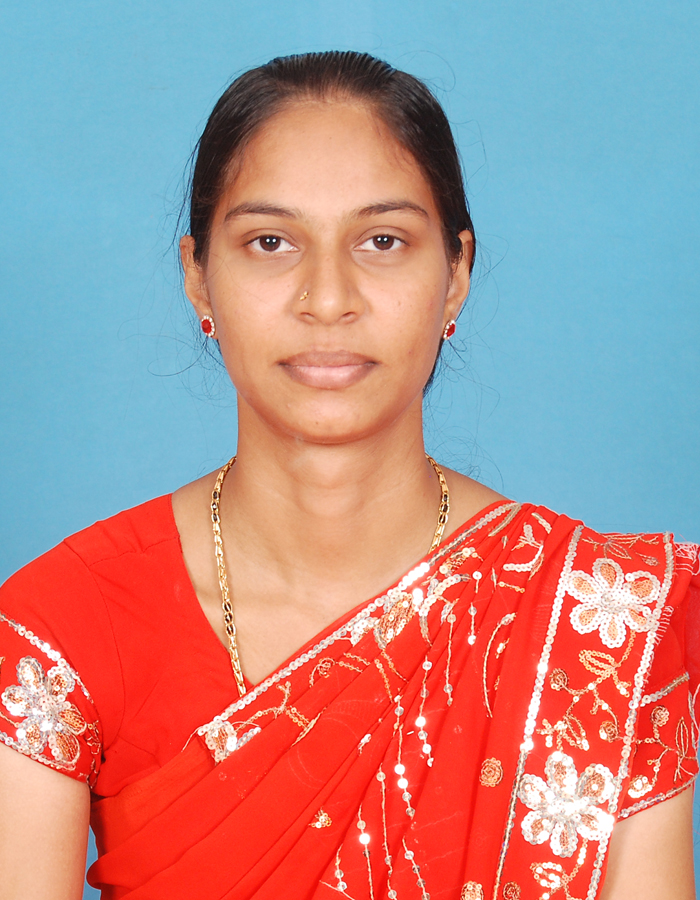 Ms. B Parveen, M.A. : Assistant Professor