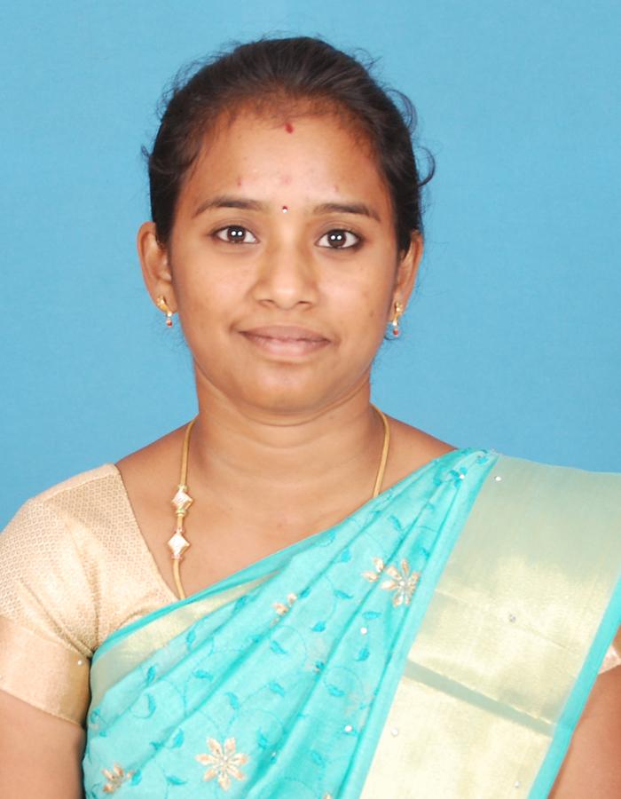 Ms.C Malarvizhi, M.Sc.,B.Ed.,M.Phil., : Assistant Professor