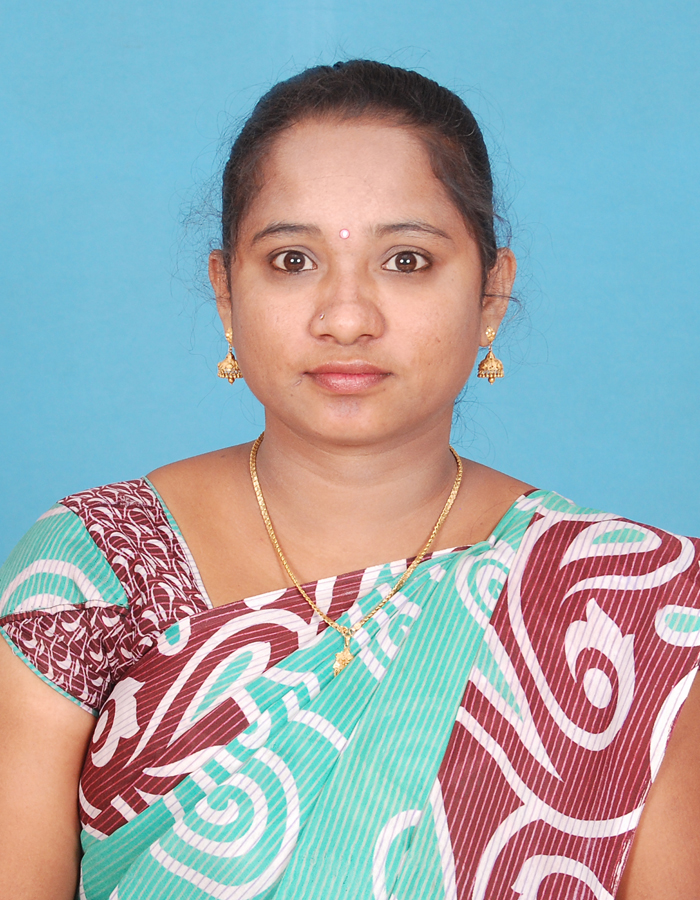 Ms. J Sumathi, M.Sc., M.Phil. : Assistant Professor and HOD