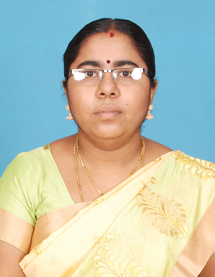 Ms. V Sandhiya, M.Sc.,M.Phil. : Assistant Professor