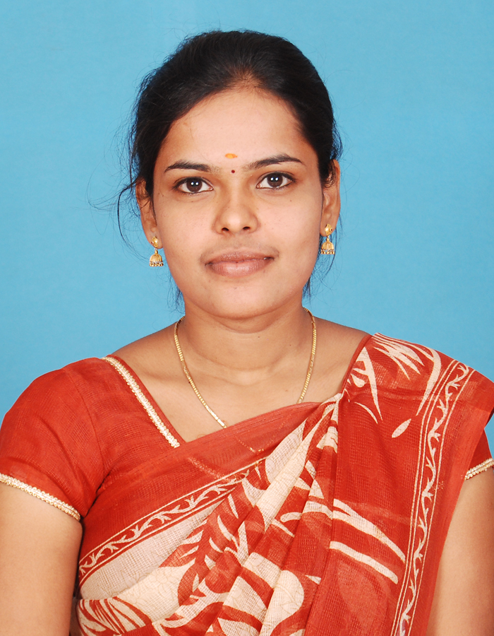 C Anjali, M.Sc., B.Ed., M.Phil. : Head & Assistant Professor