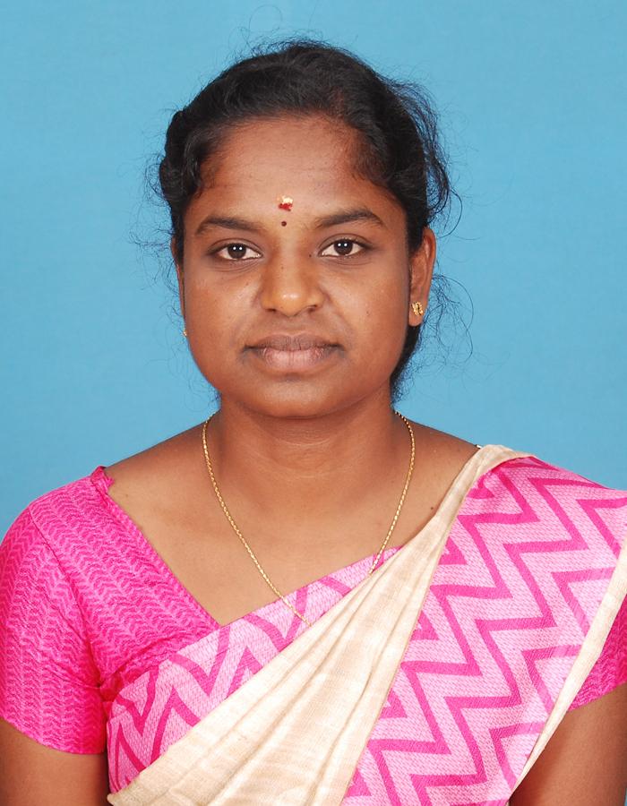 Ms. P Suganya , M.Sc.,M.Phil. : Assistant Professor