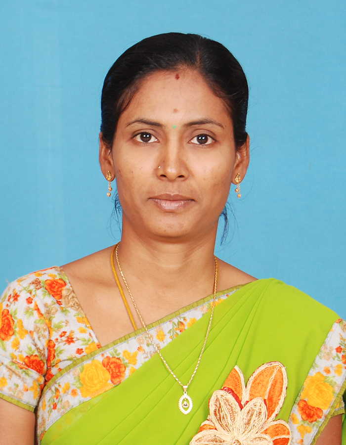 Ms.M.Sathiya M.A.,M.Phil.,SET : Assistant Professor