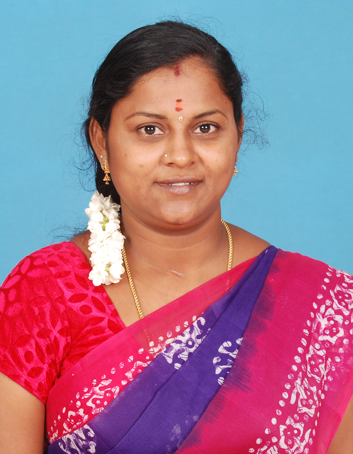 Ms. K Parameshwari, M.A.,B.Ed.,M.Phil. : Assistant Professor