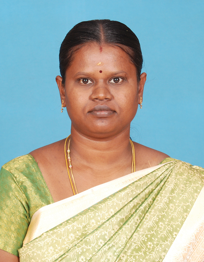 Ms. K Munirathinam, M.A.,B.Ed.,M.Phil. : Assistant Professor