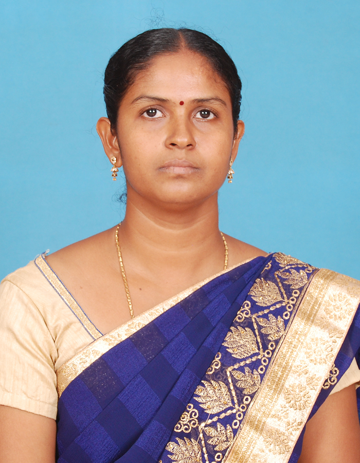 P. Nimmi Emilda Rani, M.A.,B.Ed.,M.Phil. : Assistant Professor