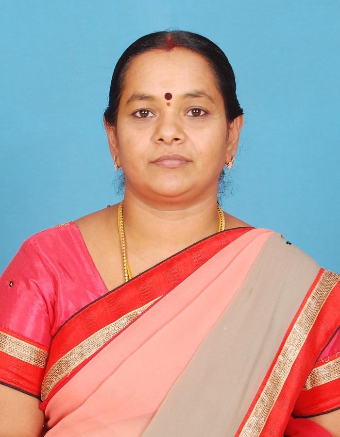 Ms. K P Vigneswari ,M.A.,B.Ed. : Assistant Professor