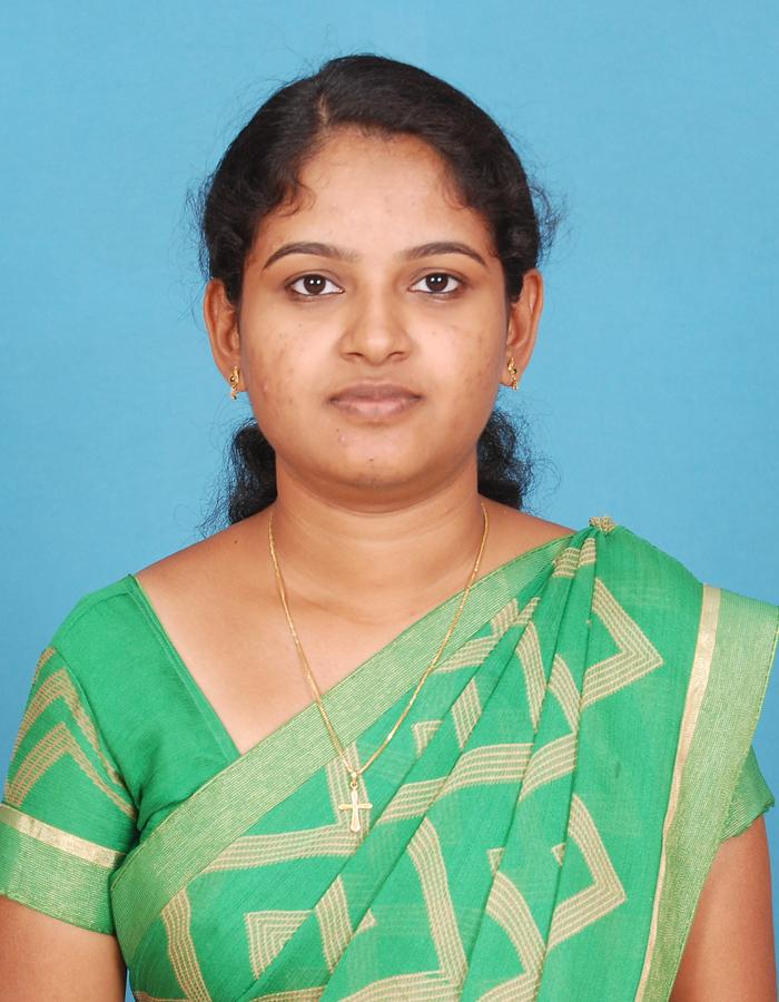 Ms. K Bindhiya, M.A.,B.Ed., : Assistant Professor