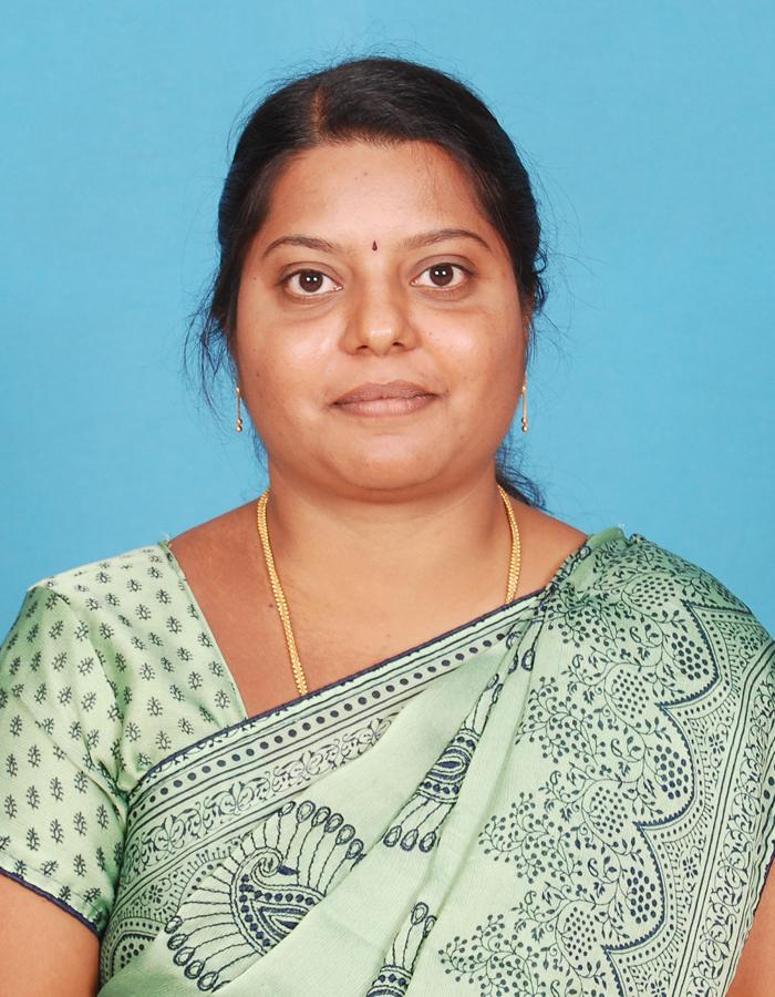 Ms. K Siva Shankari M.sc., M.Phil., B.Ed. : Head & Asst. Professor