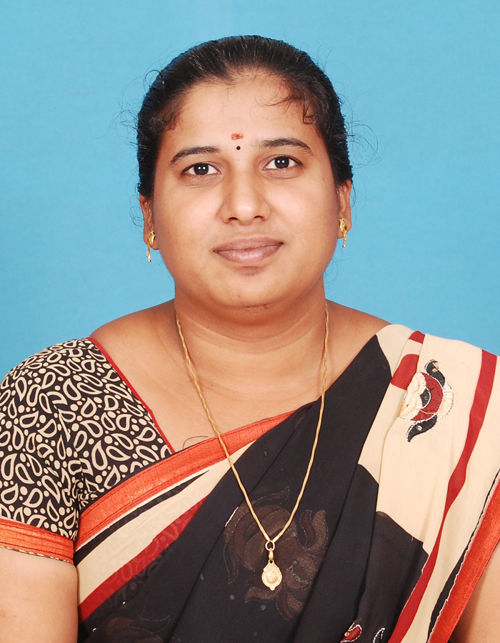 Ms. R Sandhiya Rani M.sc., M.Phil., : Assistant Professor