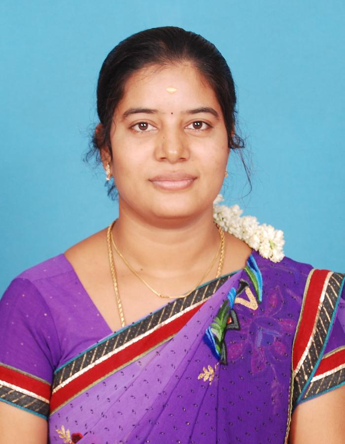 Ms. G Deepa M.sc., M.Phil., B.Ed., : Asst Professor