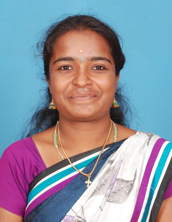 Ms. S Theresaselas M.sc., M.Phil., B.Ed., : Asst. Professor