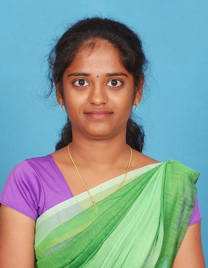 Ms. M. Divya Bharathi, M.Sc.,B.Ed.,M.Phil. : Assistant Professor