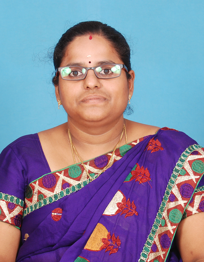 Ms. Ms. M Tamilthendral, M.Sc.,B.Ed.,M.Phil. : Assistant Professor