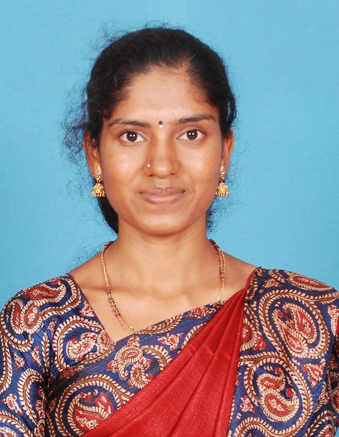 Ms R Nandhini, M.Sc.,B.Ed.,M.Phil. : Assistant Professor