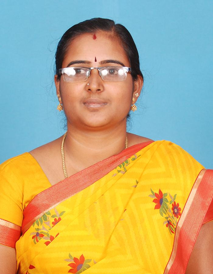 Ms. A Ruppi Nisha, M.Sc.,B.Ed.,M.Phil. : Assistant Professor