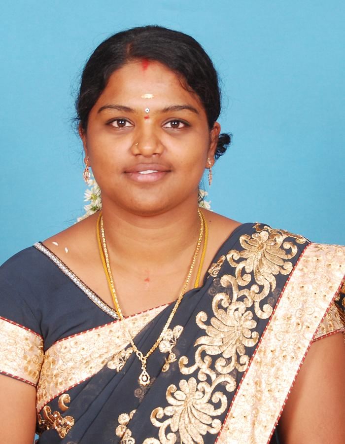 Ms. M. Poornima, M.Sc., B.Ed.,M.Phil. : Assistant Professor