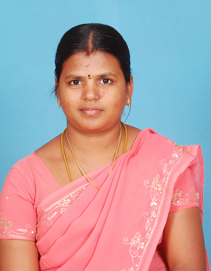 Ms. M Ezhilarasi,M.Sc.,M.Phil. : Assistant Professor