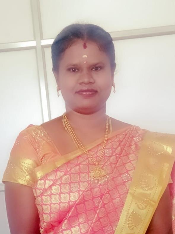 Ms. K Munirathinam, M.A.,B.Ed.,M.Phil. : Assistant Professor