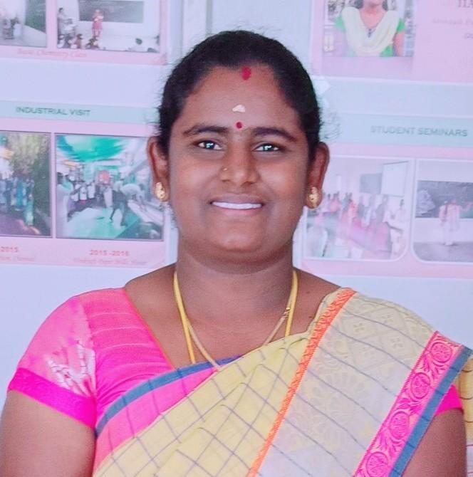 Ms. R Siva Nandhini.,M.Sc.,B.Ed.,M.Phil. : Assistant Professor