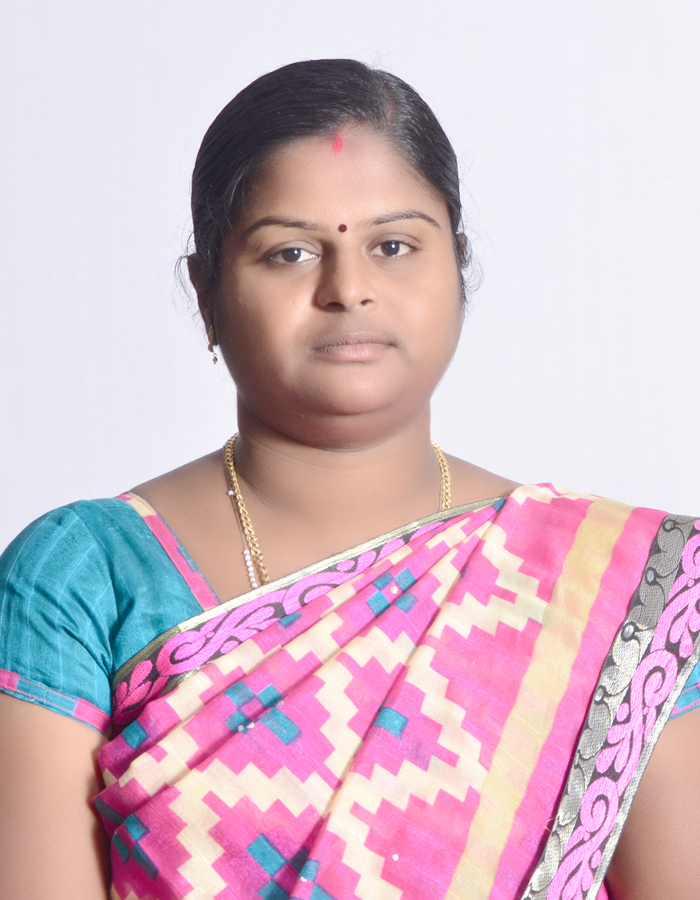 Ms. P Silviya, MCA., : Assistant Professor